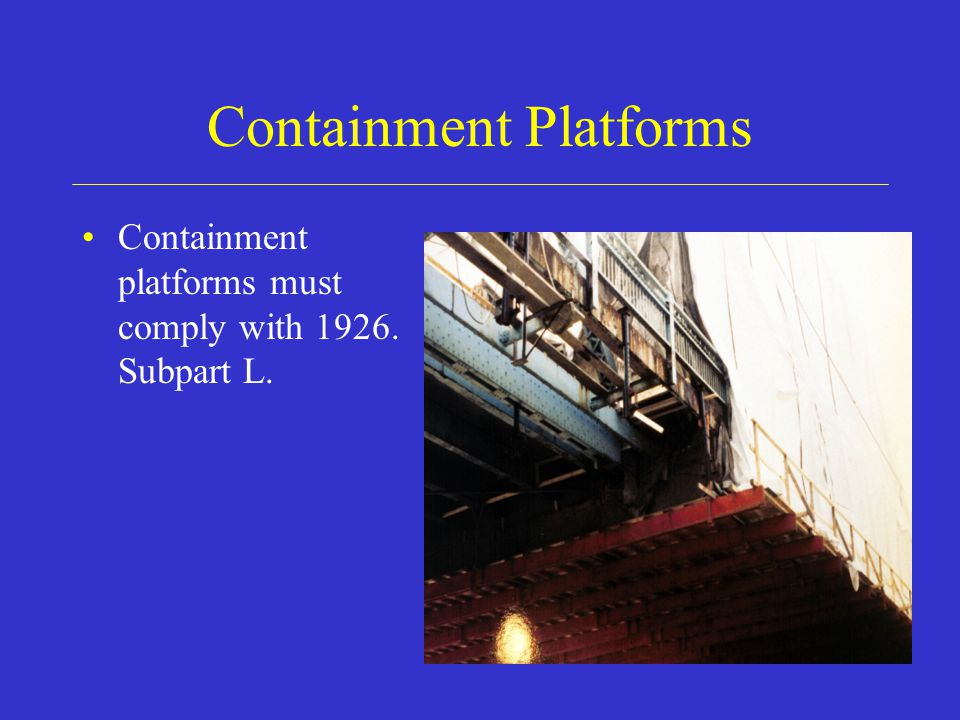 Containment Platforms