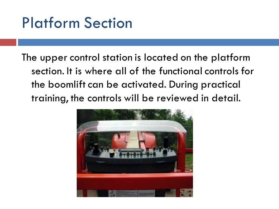 Platform Section