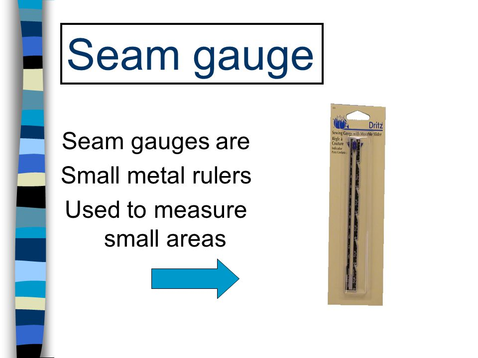 Used to measure small areas
