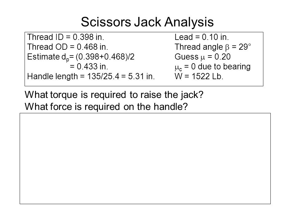 Scissors Jack Analysis