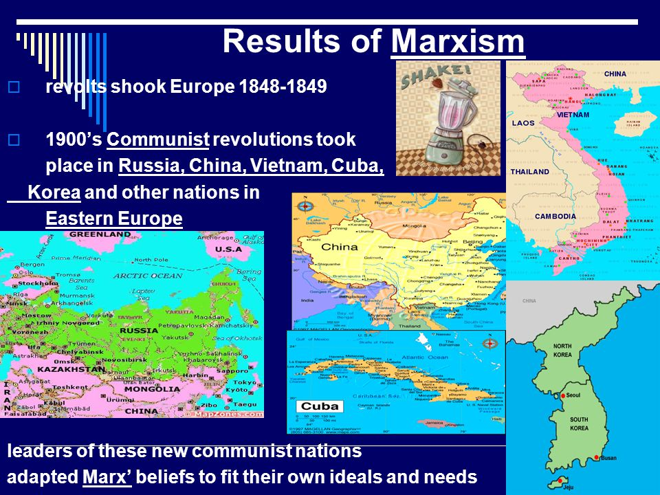 Results of Marxism revolts shook Europe 1848-1849