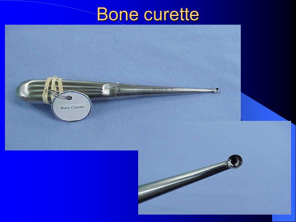Bone curette