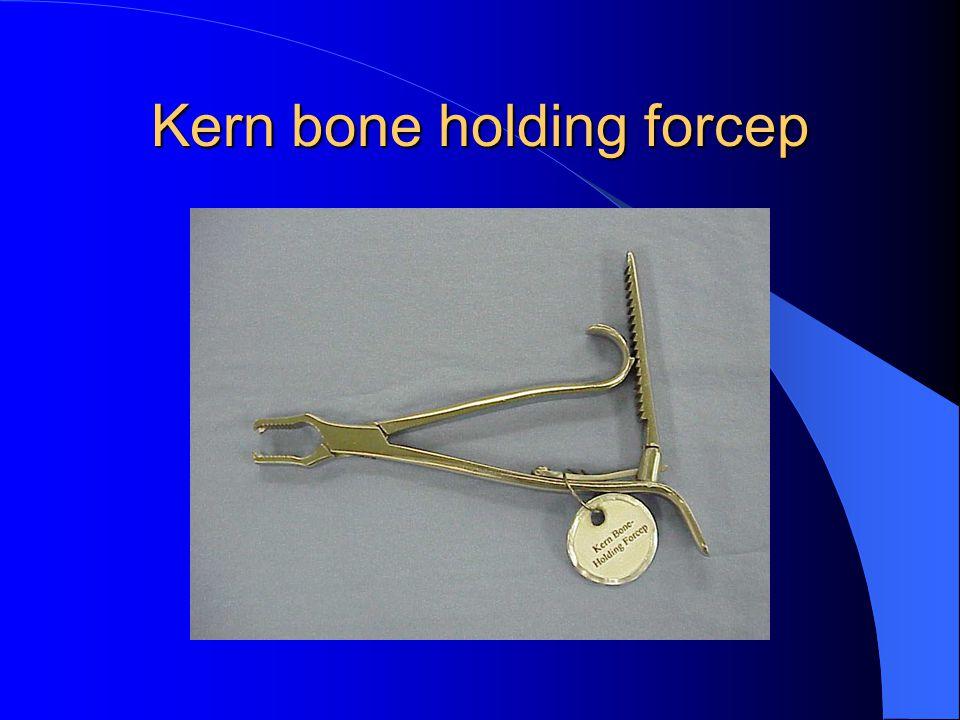 Kern bone holding forcep
