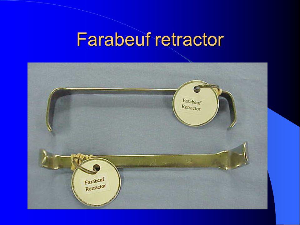 Farabeuf retractor
