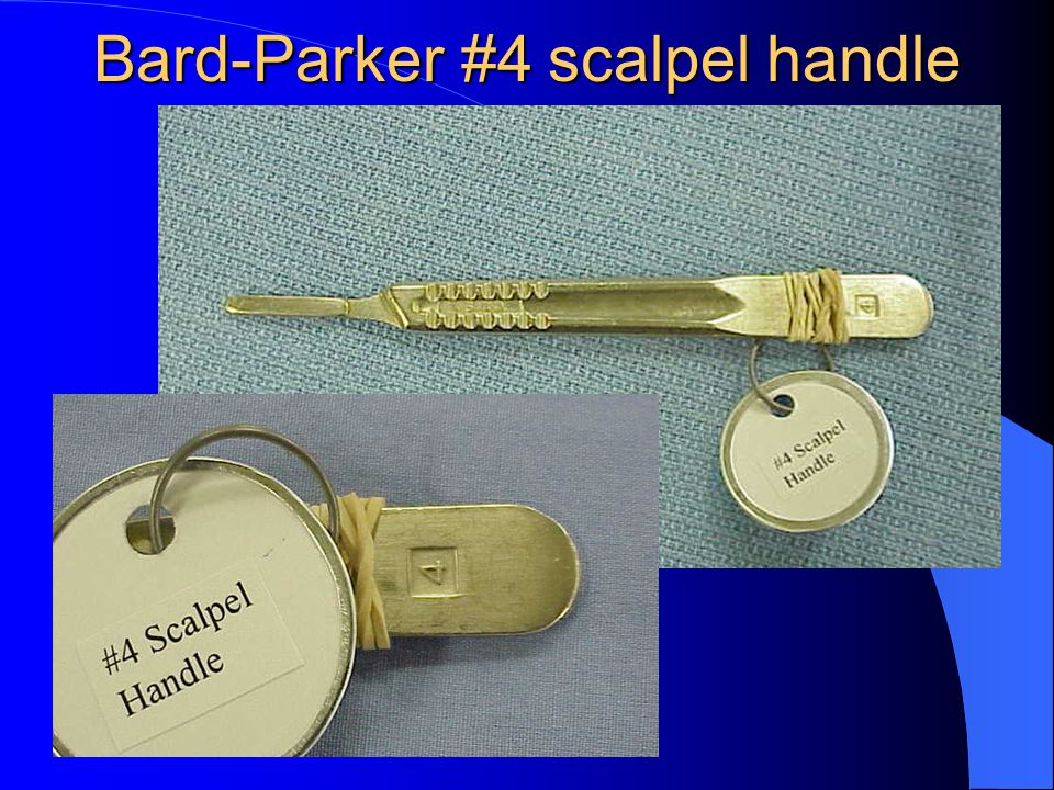 Bard-Parker #4 scalpel handle