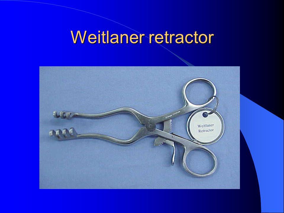 Weitlaner retractor