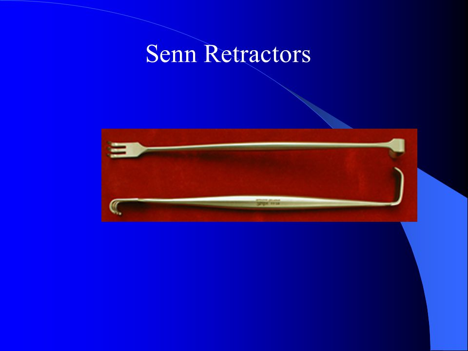 Senn Retractors