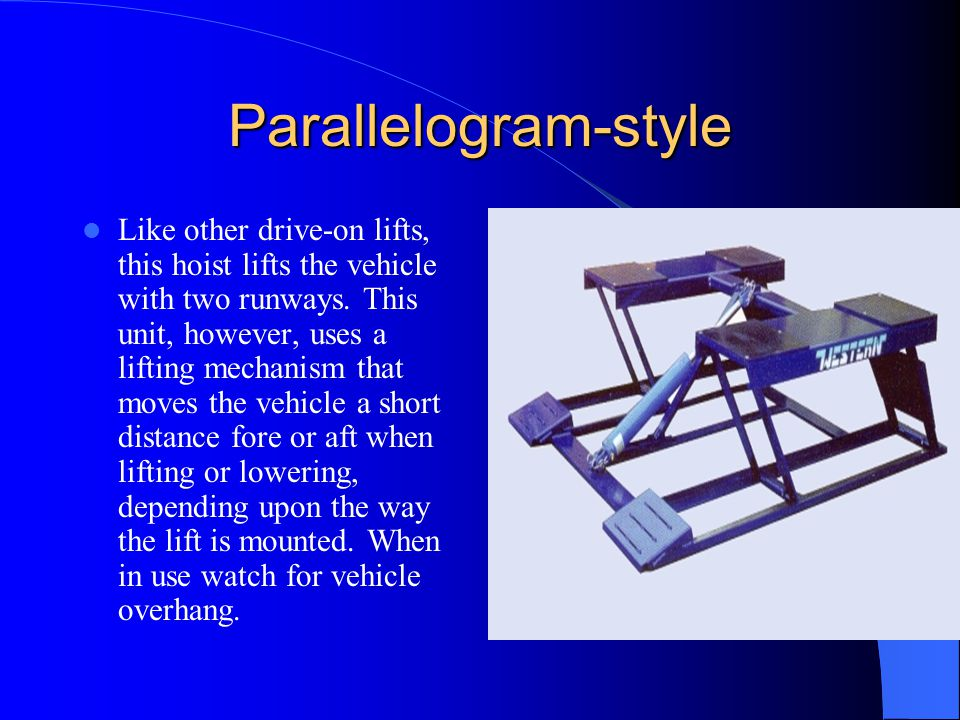 Parallelogram-style