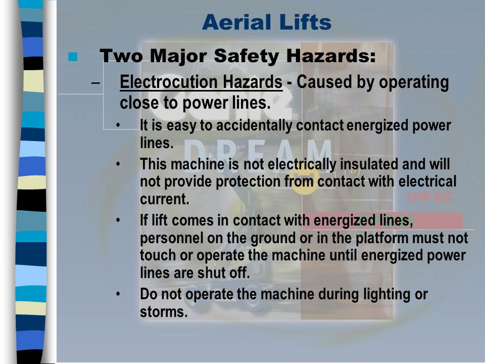Aerial Lifts Two Major Safety Hazards: