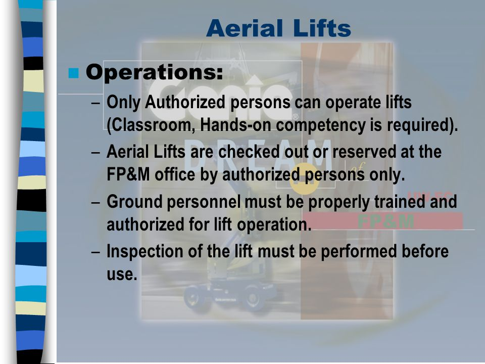 Aerial Lifts Operations: