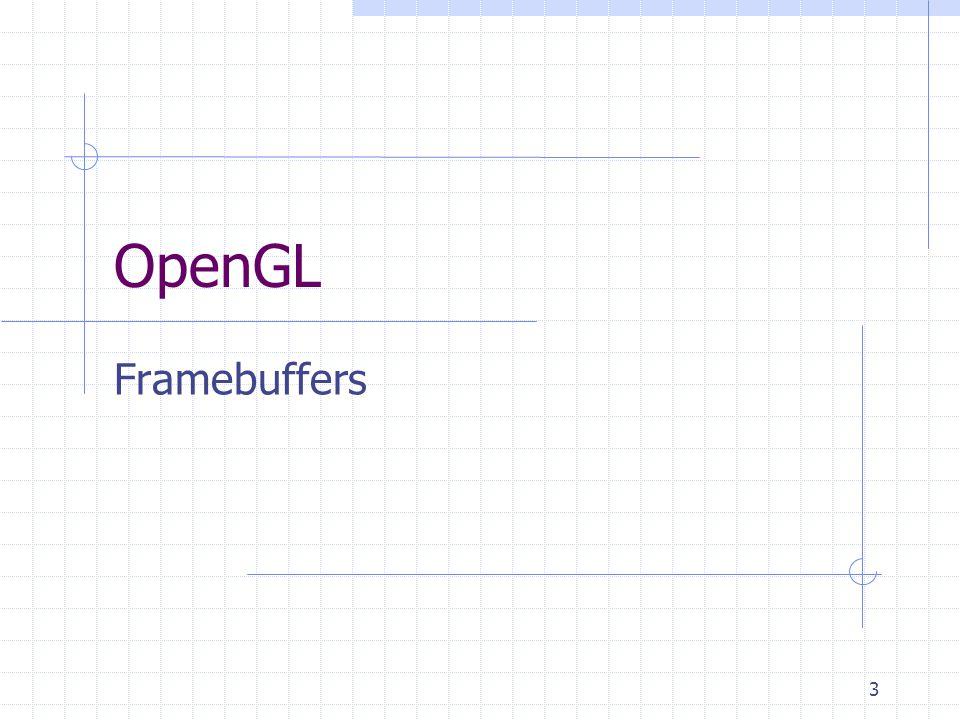 OpenGL Framebuffers