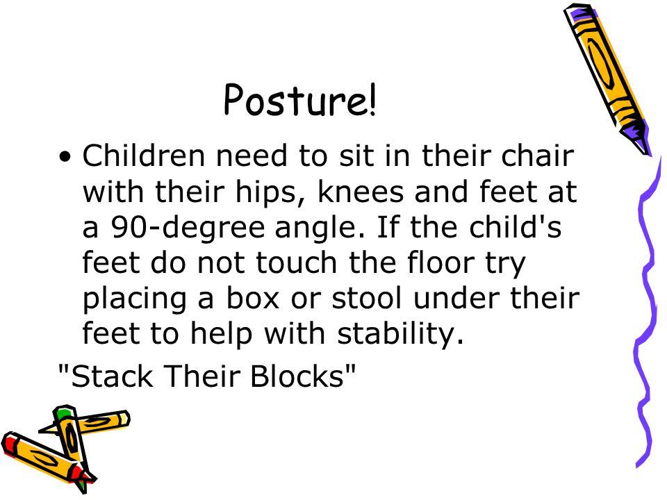 Posture!