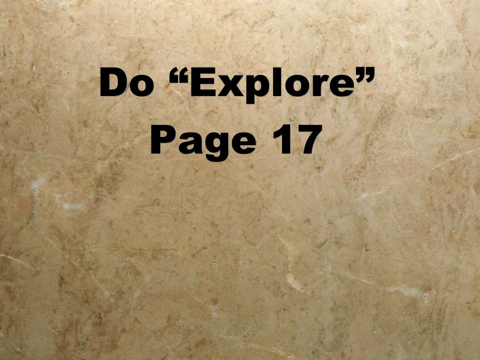 Do Explore Page 17