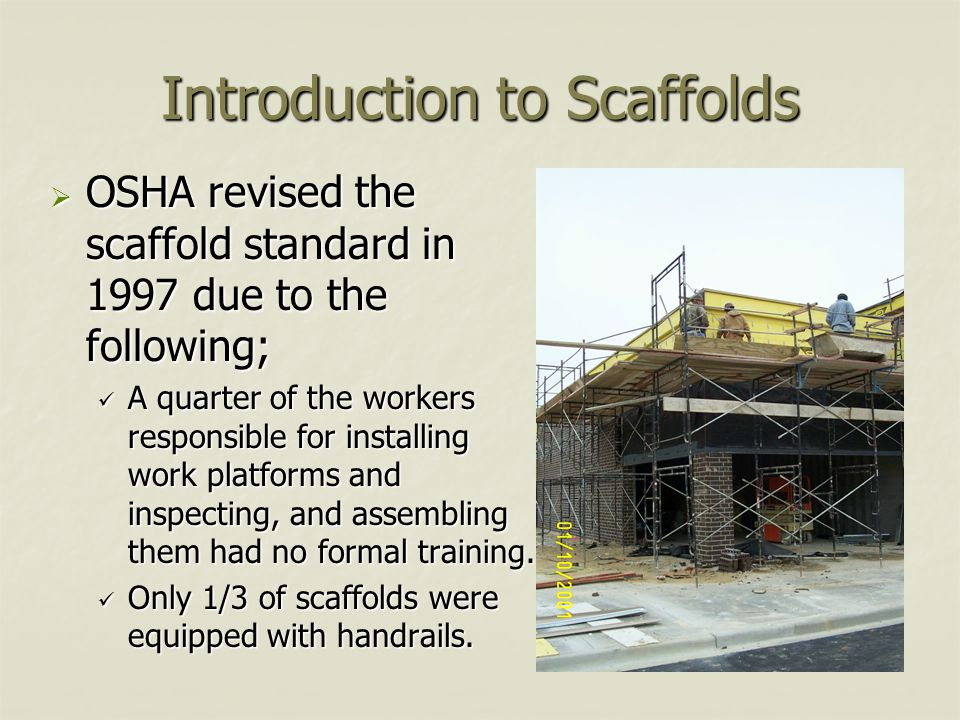 Introduction to Scaffolds