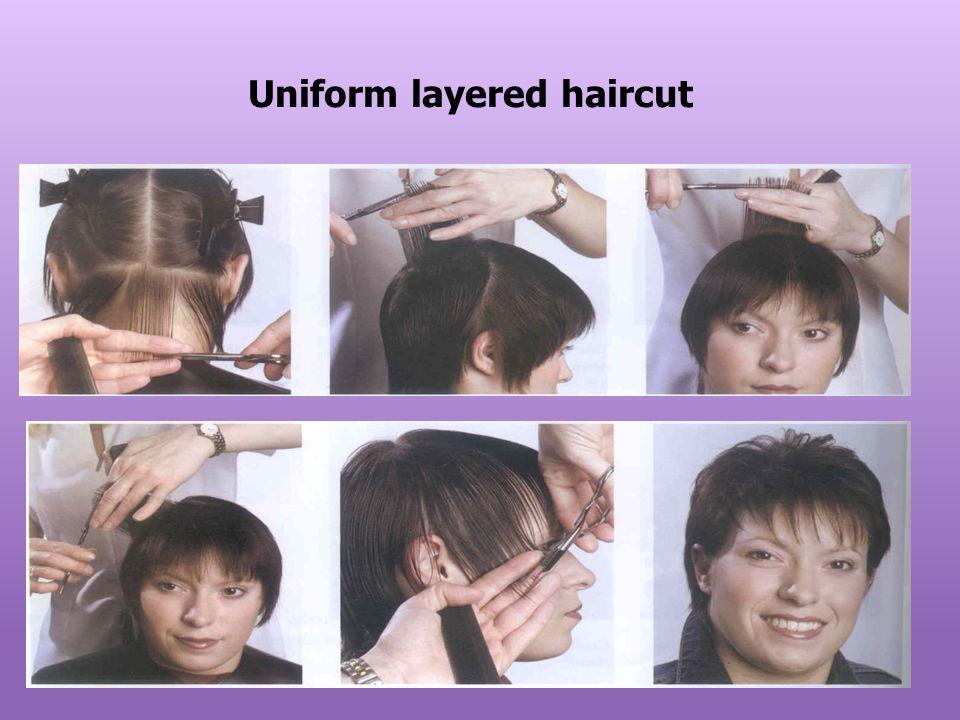Uniform layered haircut