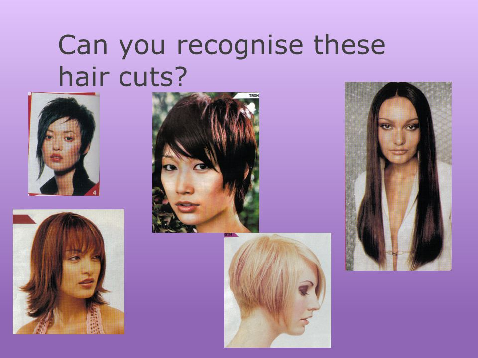 Can you recognise these hair cuts