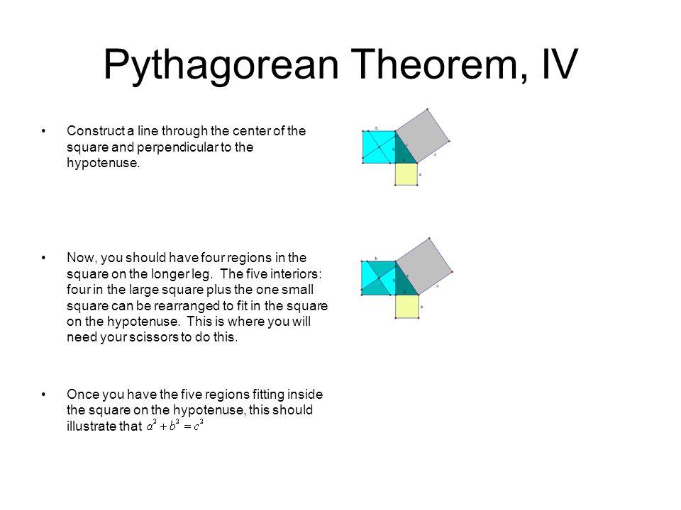 Pythagorean Theorem, IV