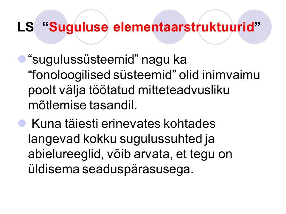 LS Suguluse elementaarstruktuurid