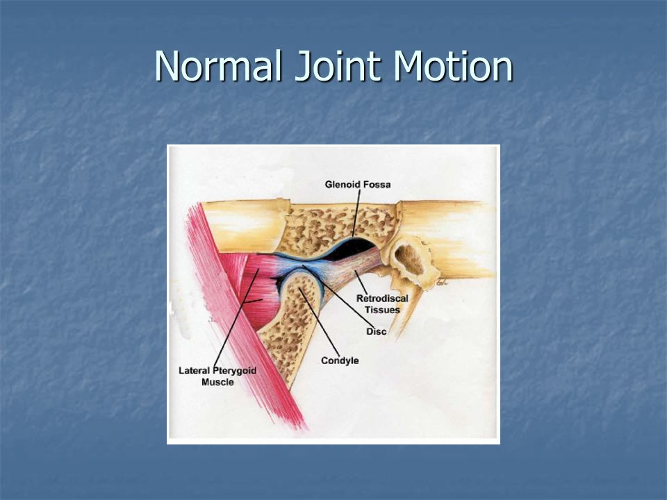 Normal Joint Motion