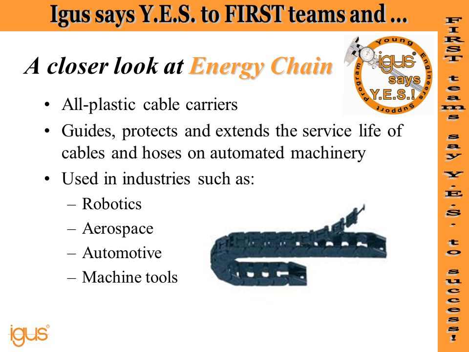 A closer look at Energy Chain