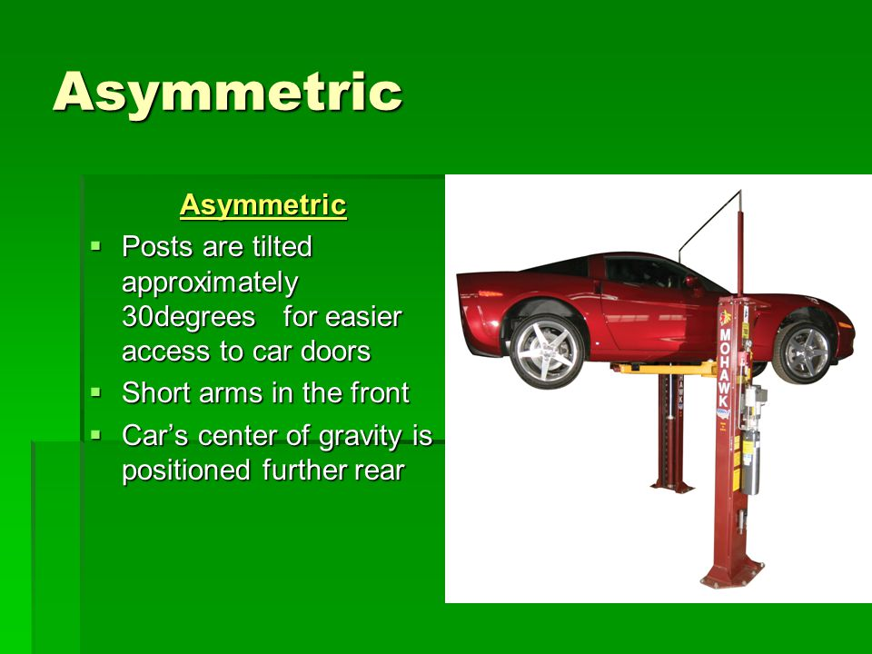 Asymmetric Asymmetric