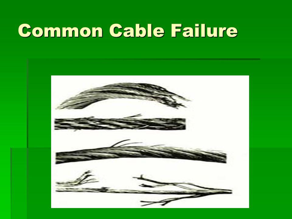 Common Cable Failure