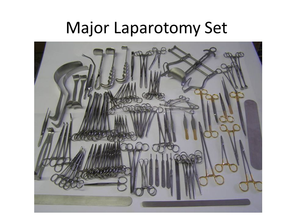Major Laparotomy Set
