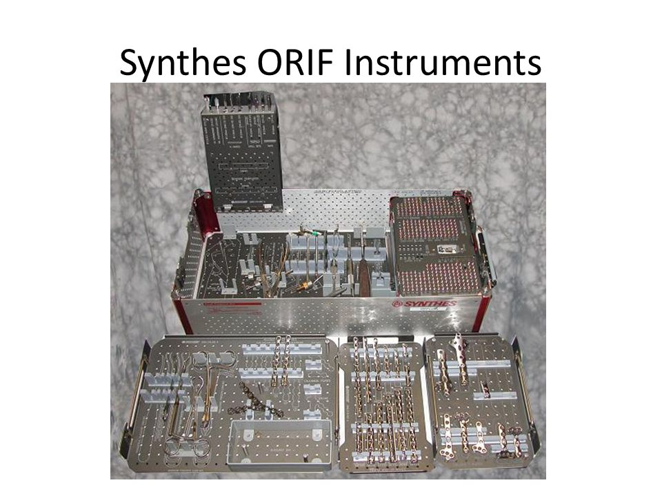 Synthes ORIF Instruments
