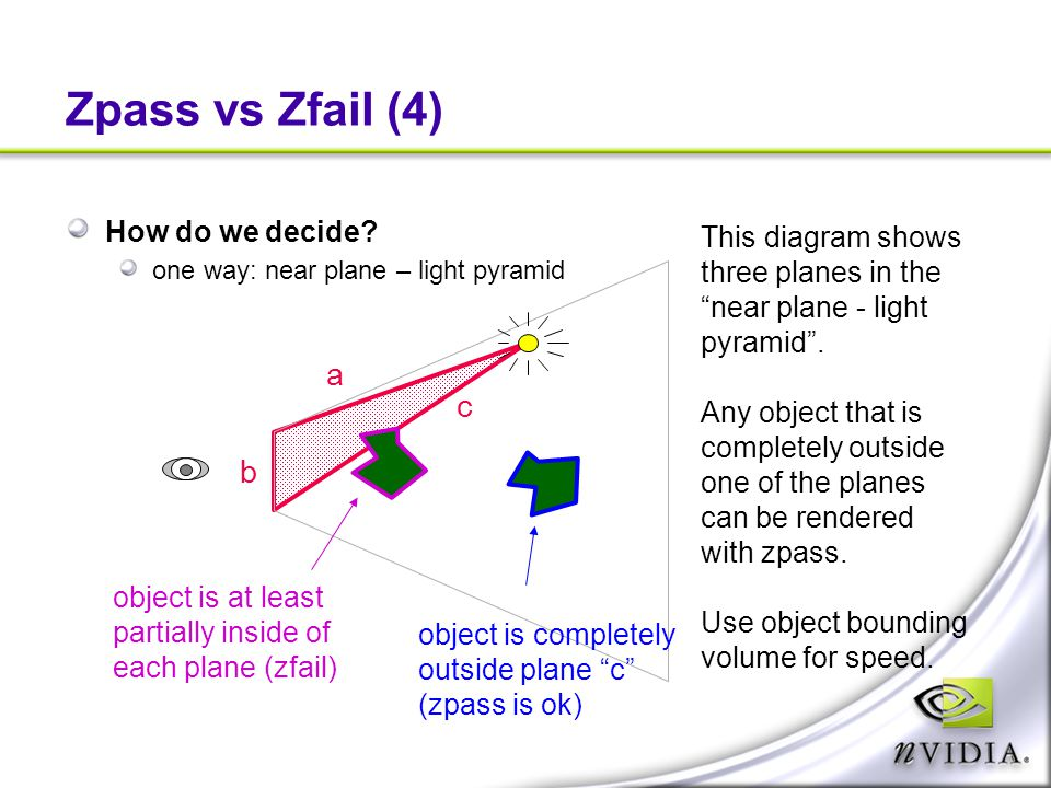 Zpass vs Zfail (4) a c b How do we decide This diagram shows