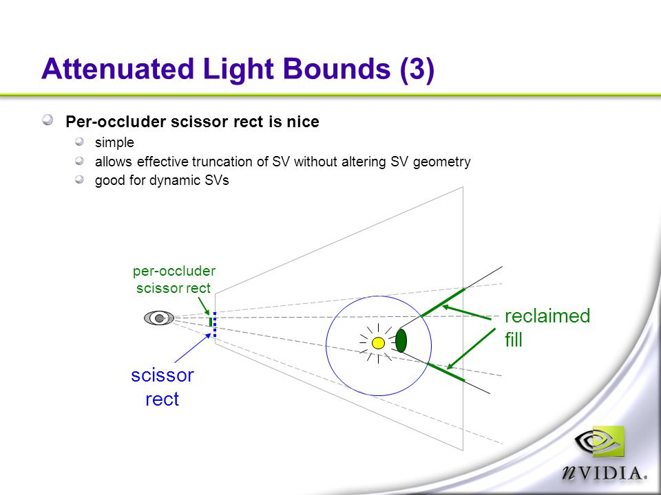 Attenuated Light Bounds (3)