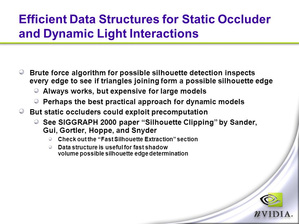 Efficient Data Structures for Static Occluder and Dynamic Light Interactions