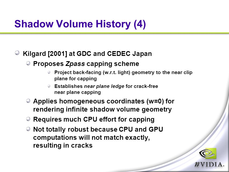 Shadow Volume History (4)