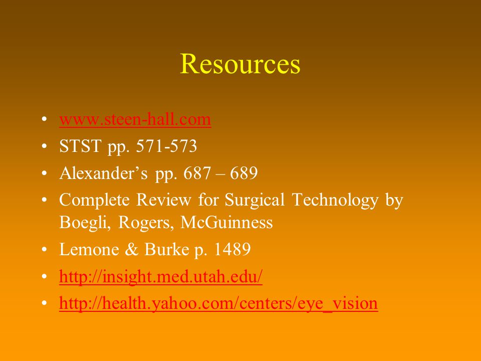 Resources www.steen-hall.com STST pp. 571-573
