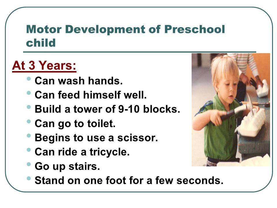 Motor Development of Preschool child
