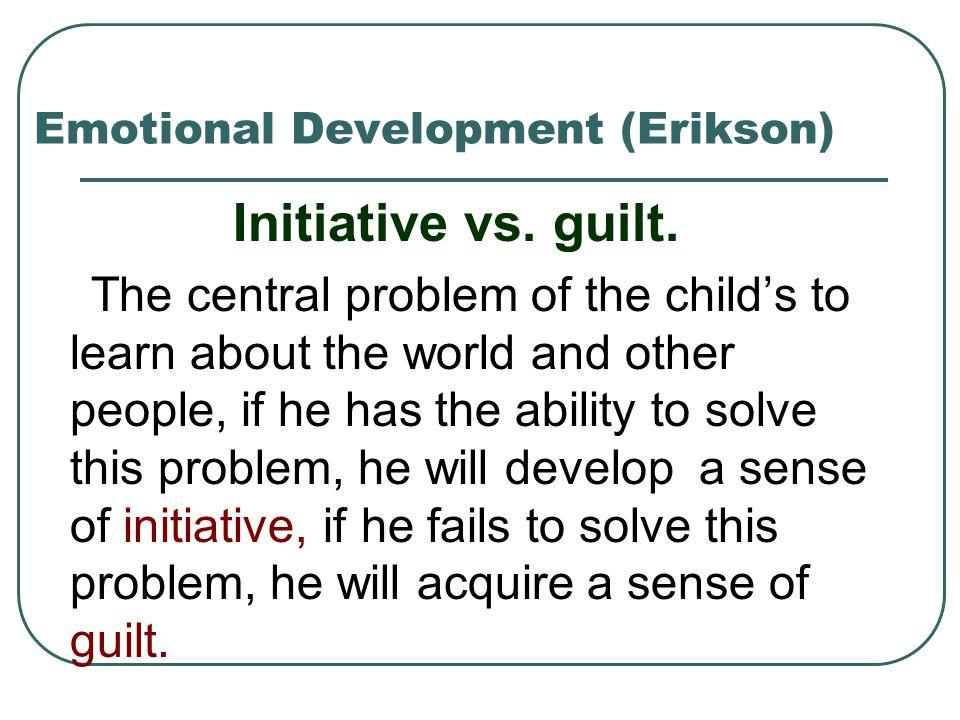 Emotional Development (Erikson)