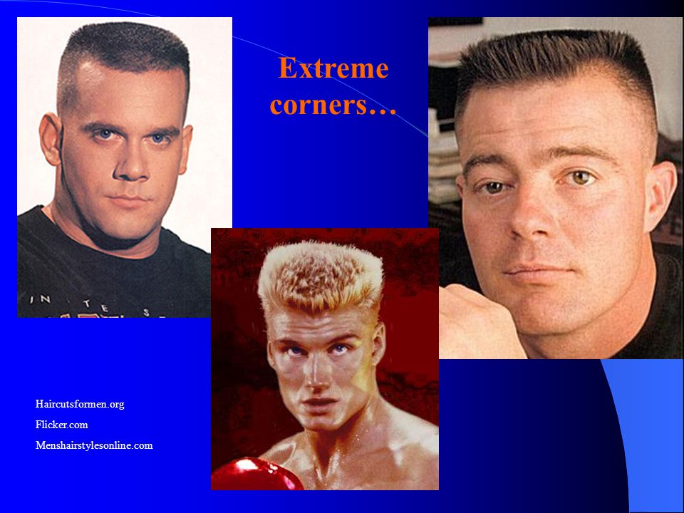 Extreme corners… Haircutsformen.org Flicker.com