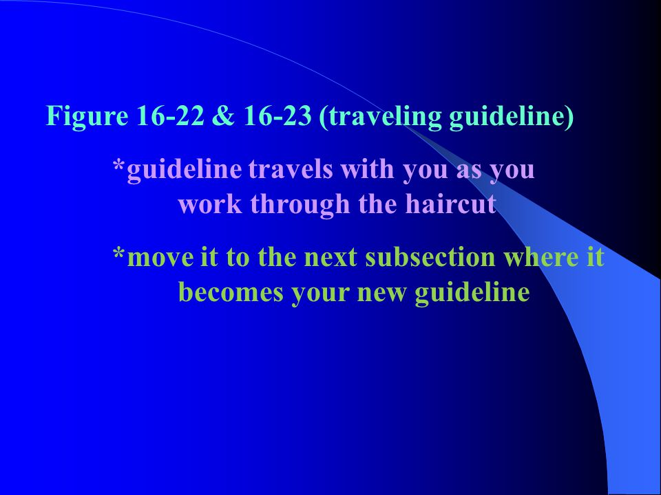 Figure 16-22 & 16-23 (traveling guideline)