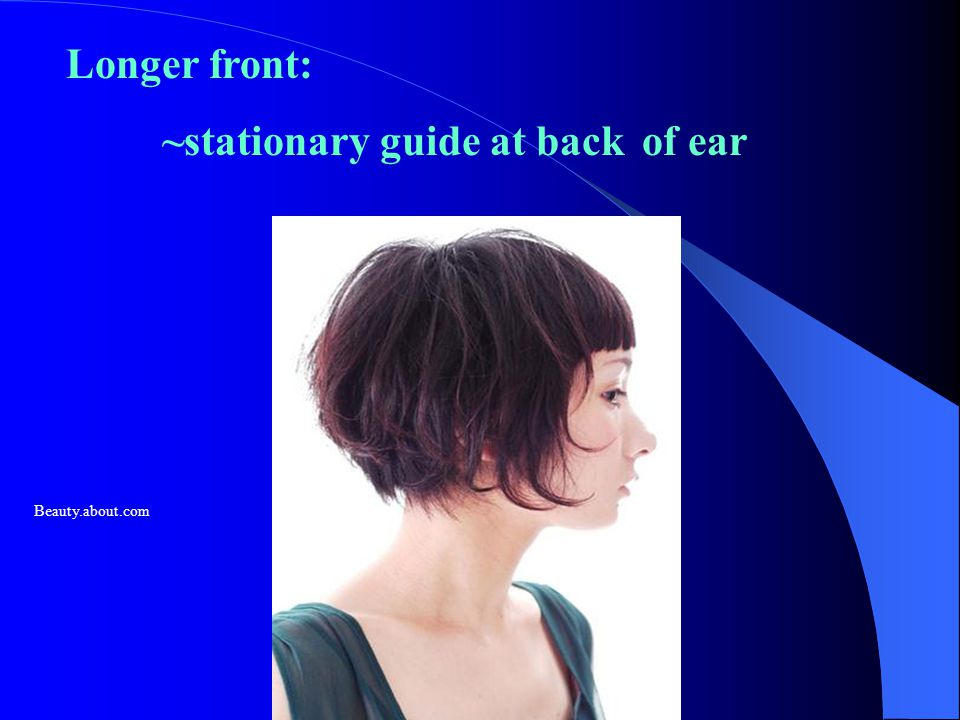 ~stationary guide at back of ear