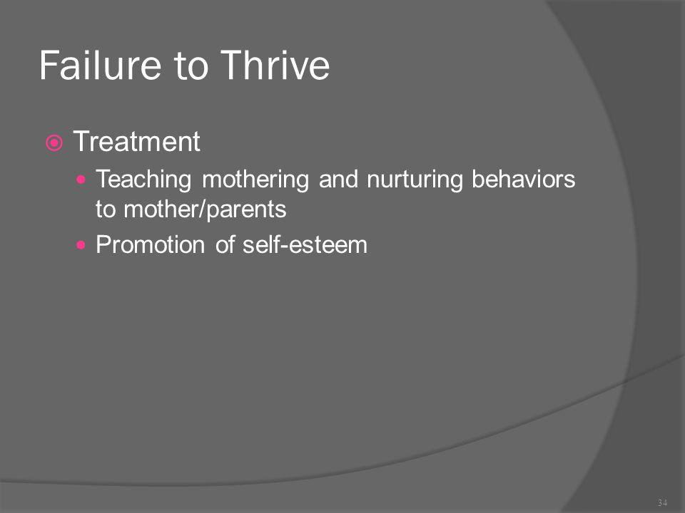 Failure to Thrive Treatment