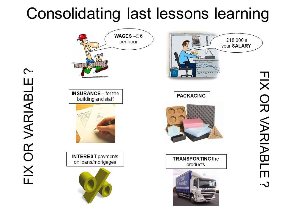Consolidating last lessons learning
