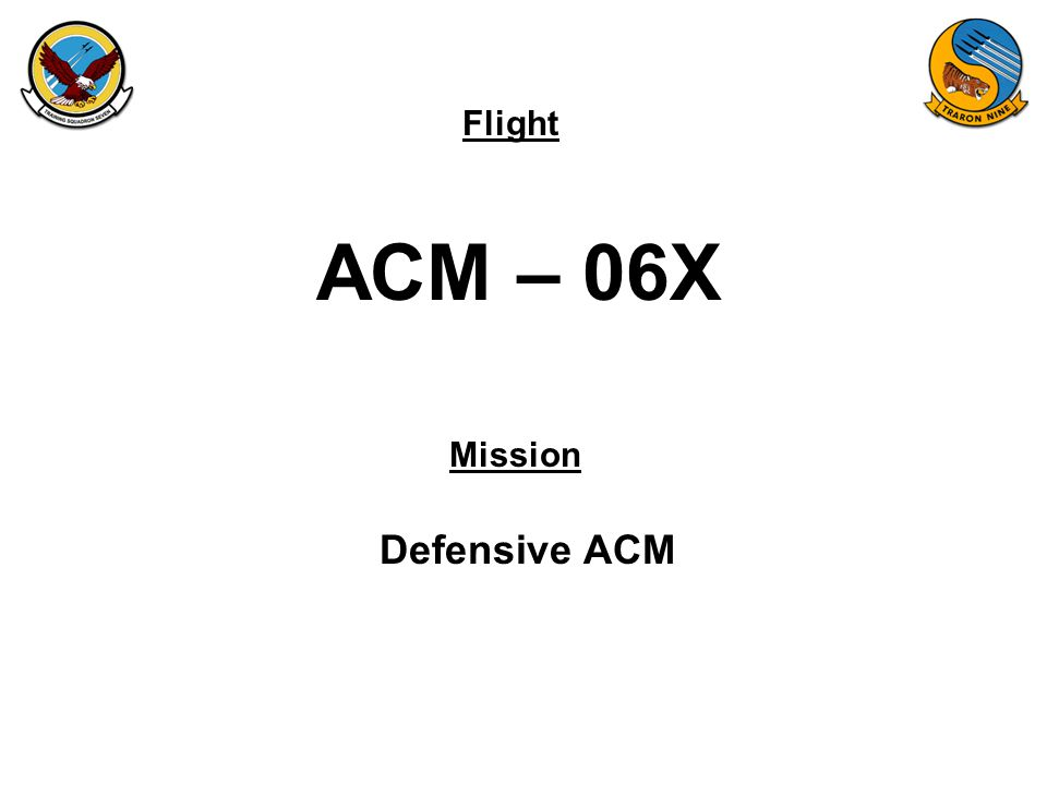 ACM – 06X Defensive ACM
