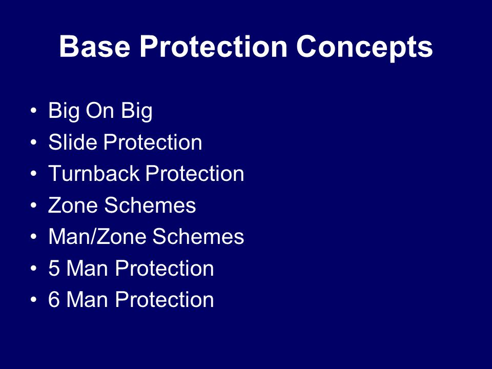 Base Protection Concepts