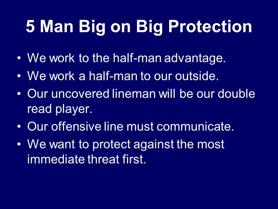 5 Man Big on Big Protection