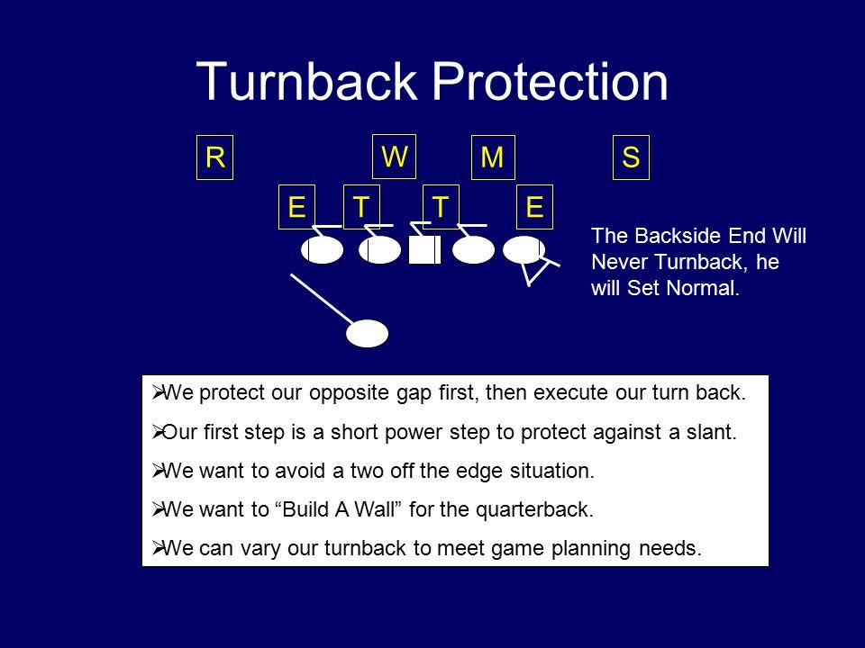 Turnback Protection R W M S E T T E