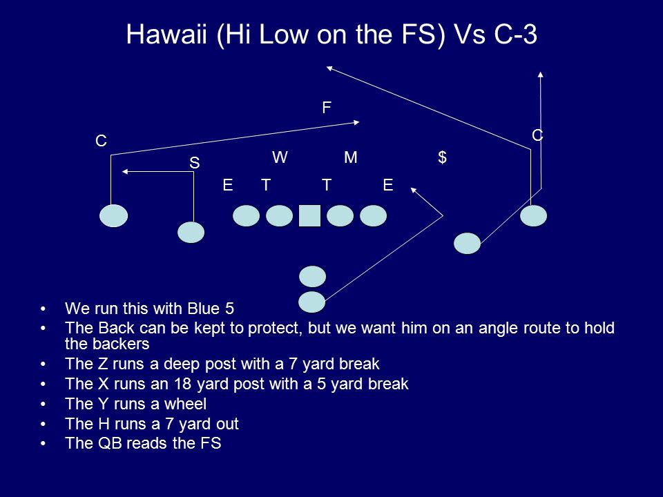 Hawaii (Hi Low on the FS) Vs C-3