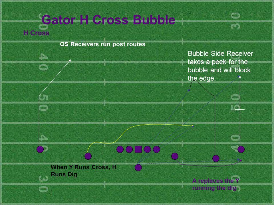 Gator H Cross Bubble H Cross