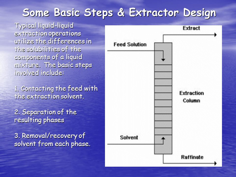 Some Basic Steps & Extractor Design