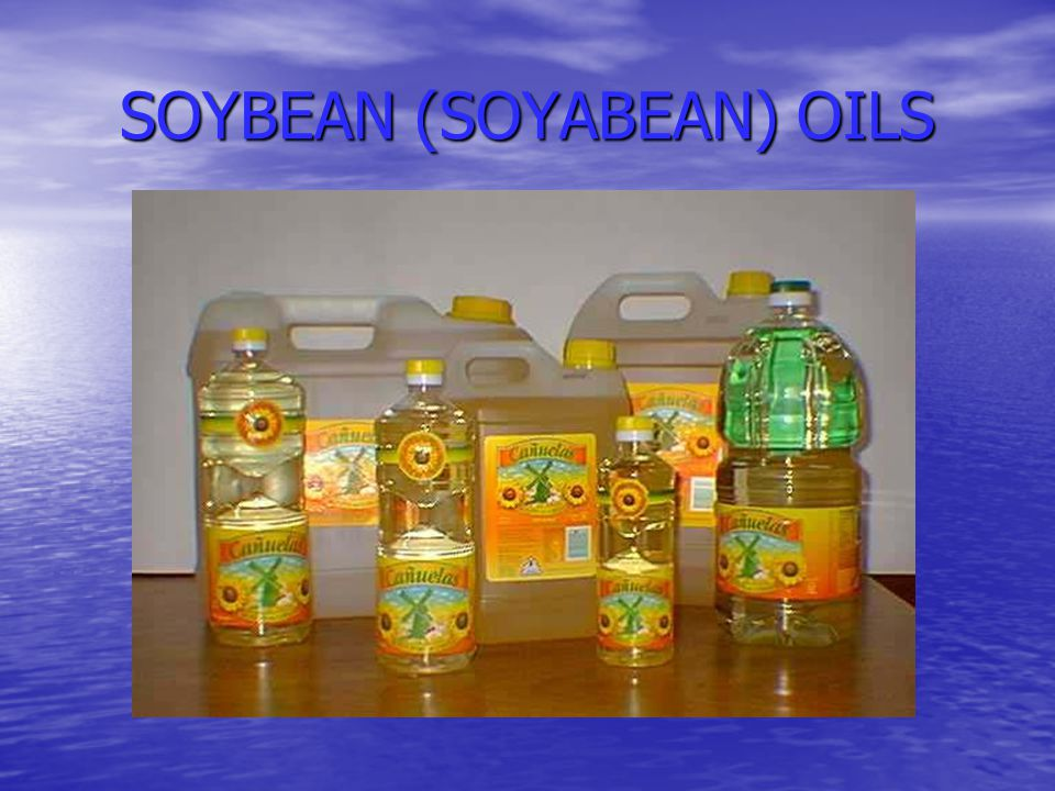 SOYBEAN (SOYABEAN) OILS