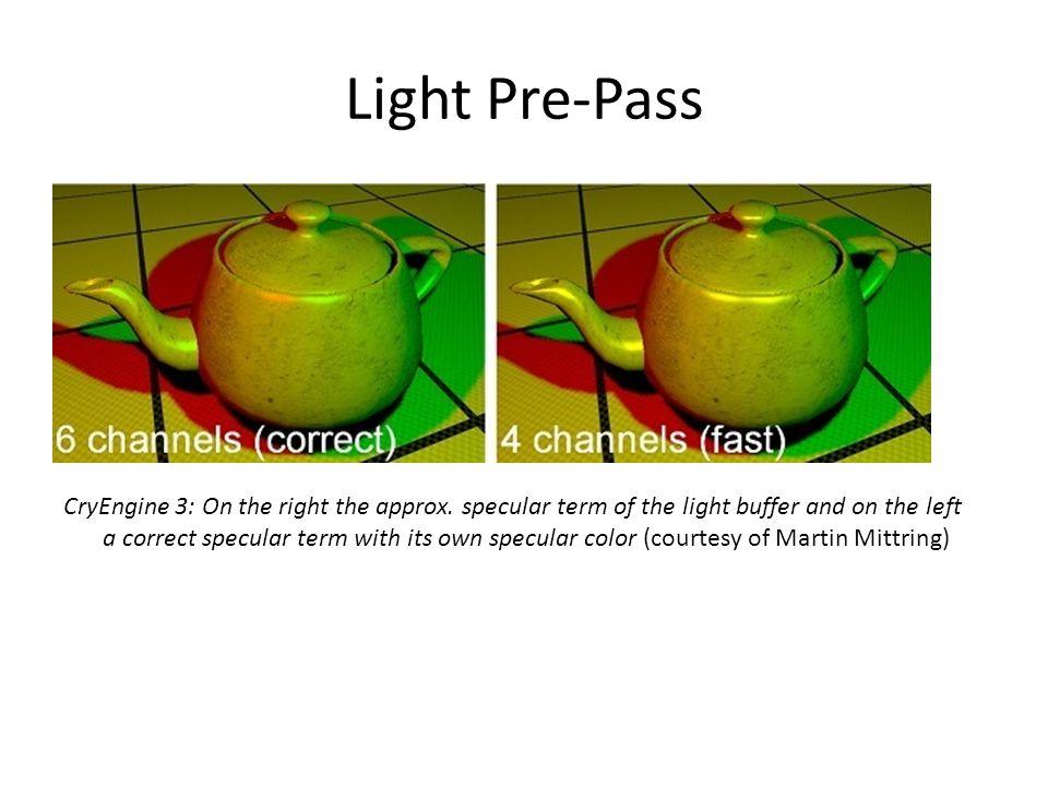 Light Pre-Pass