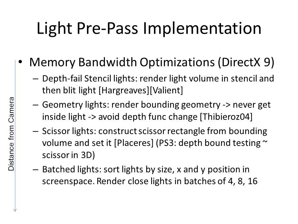 Light Pre-Pass Implementation
